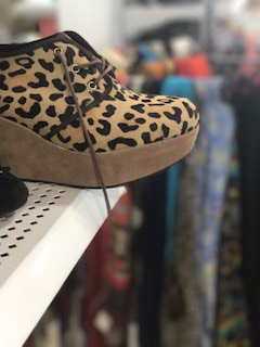 Leopard Shoe - Goodwill