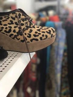 Leopard Shoe - Goodwill