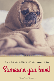 blog quote - self care dog