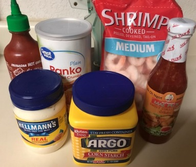 Shrimp Recipe Ingredients