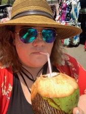 Fresh Coconut at Market