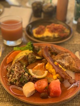 Best breakfast on the island